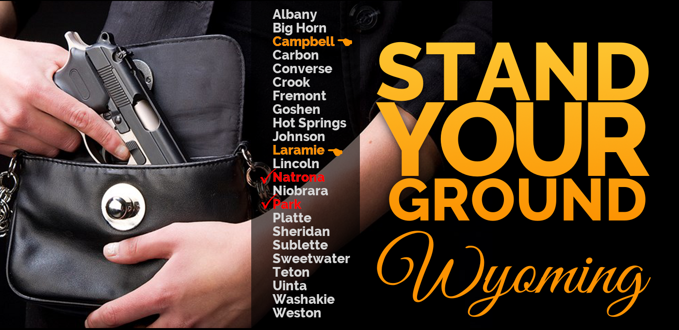 Stand-Your-Ground law is spreading like wild-fire in Wyoming!