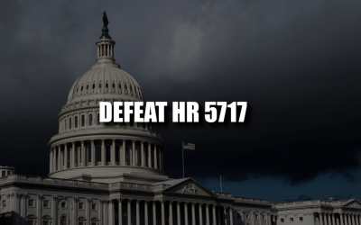 Tell Wyoming's Congressional Leaders to Stop H.R. 5717!